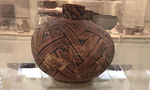 Indian pottery at cave creek museum