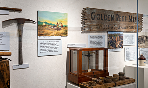 gold mining history in cave creek