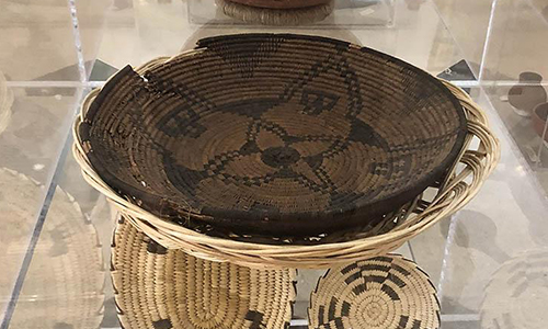 ancient woven baskets